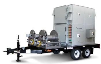 Нагрузочная станция смонтированная на трейлер K580HC/K975A 2000 кВт-2500 кВт