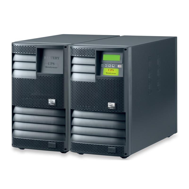 Внешний вид ИБП Megailine с дополнительным батарейным шкафом