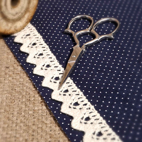 Cream Cotton Crochet Lace M350