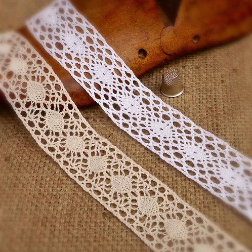 Cotton Crochet Lace M366