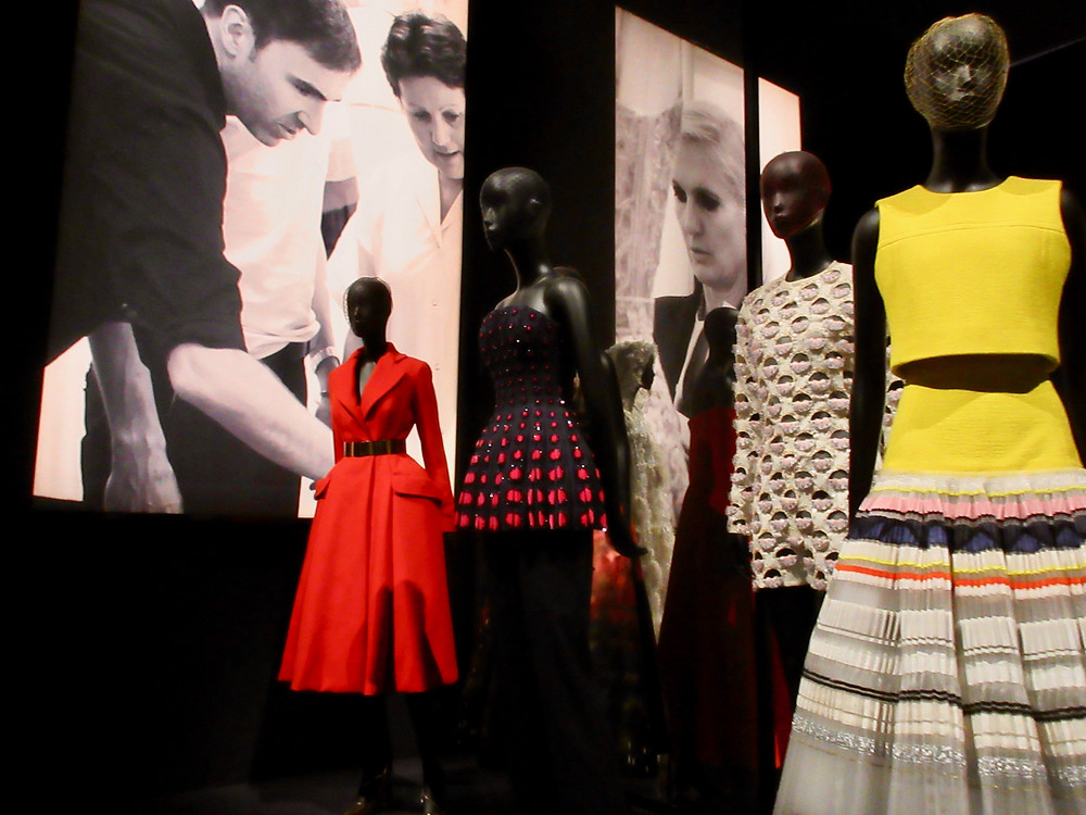 A selection of designs by Raf Simons for Dior.