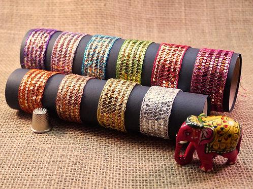Metallic Woven Ribbon M8