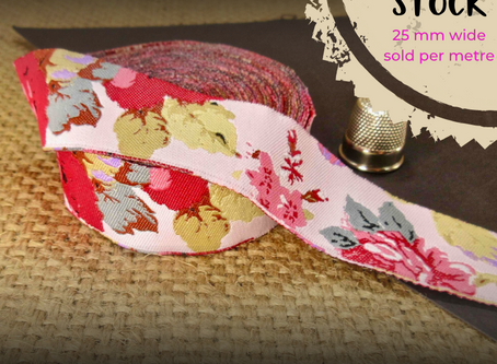 🐕 Down Shep! 🐕 New Jacquard ribbons ideal for dog collars - Part 1
