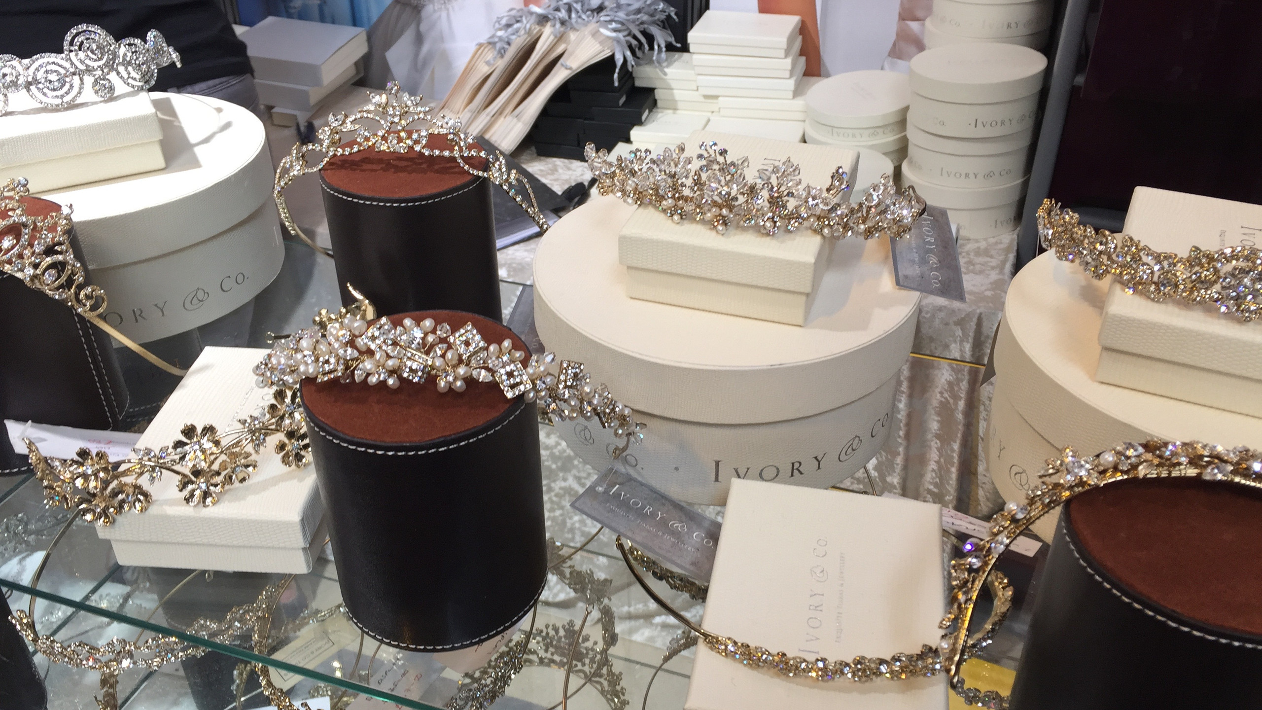 I'm partial to a bit of sparkle from Ivory and Co