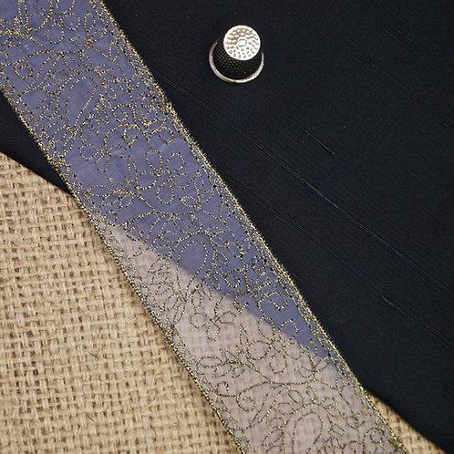 Organza Paisley Ribbon M38
