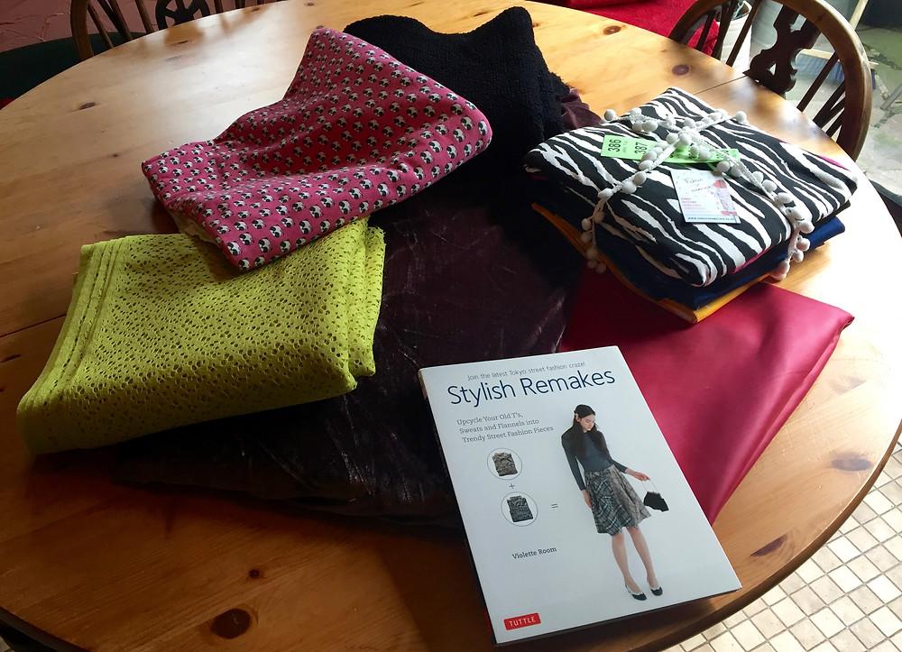 My fabric haul SewBrum