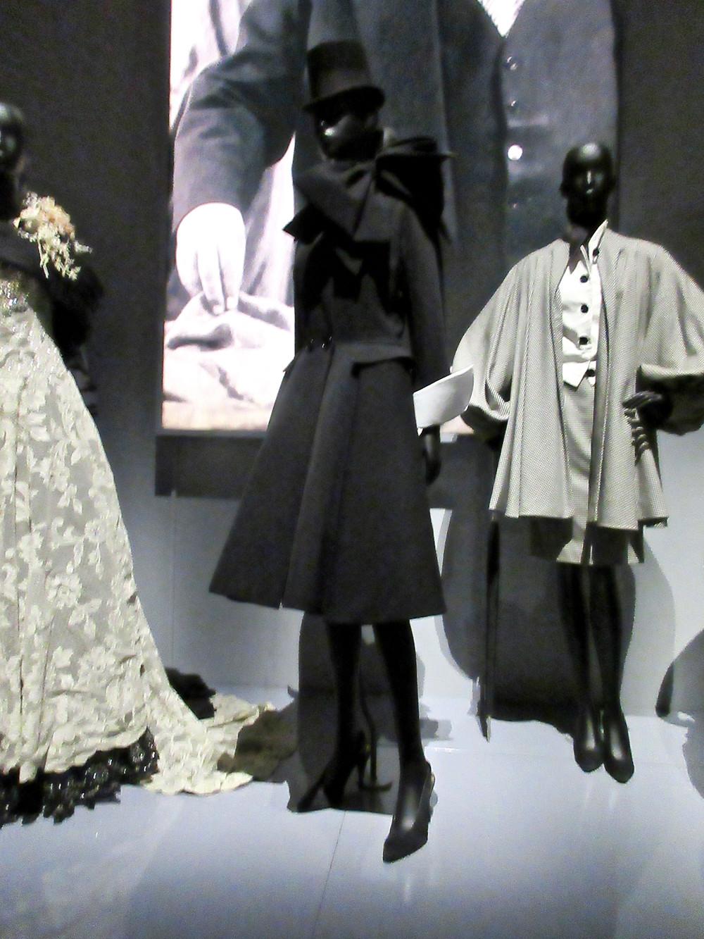 Centre - Cecil Coat Gianfranco Ferrere Haute Couture Autumn Winter 1989. Wool and satin silk.
