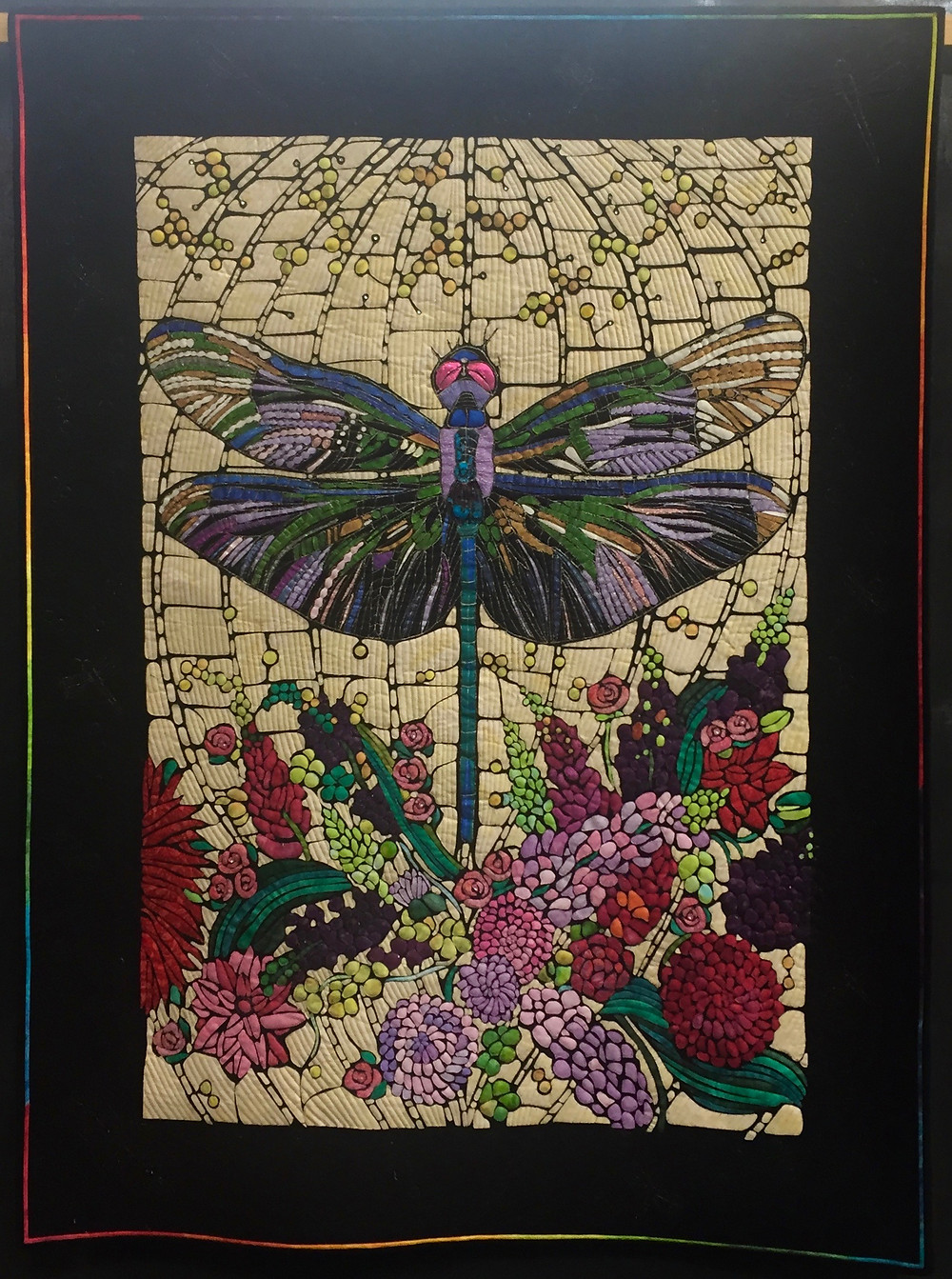 Festival of Quilts - The DragonFly by Jeanette Orr (Art Quilt)
