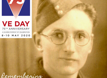 Remembering.... on VE Day Weekend