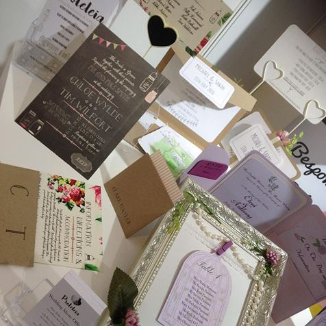 Bespoke stationery from Proteleia