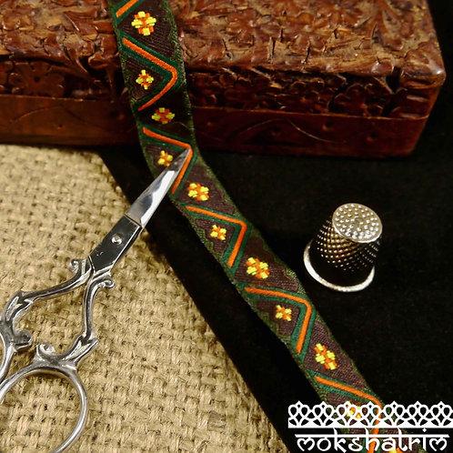 Tribal Jacquard Ribbon M116