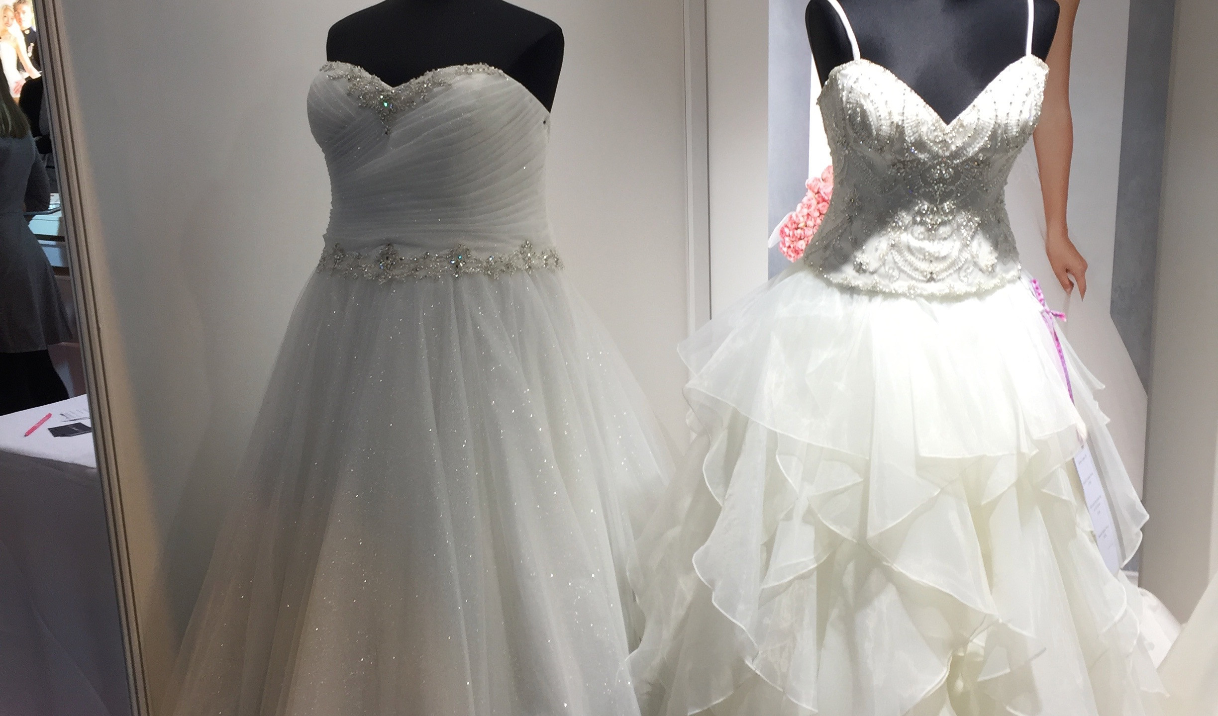 And more Plus Size mannequins from Roberta's Bridal