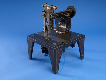 Happy 170 birthday to the Singer Sewing Machine!
