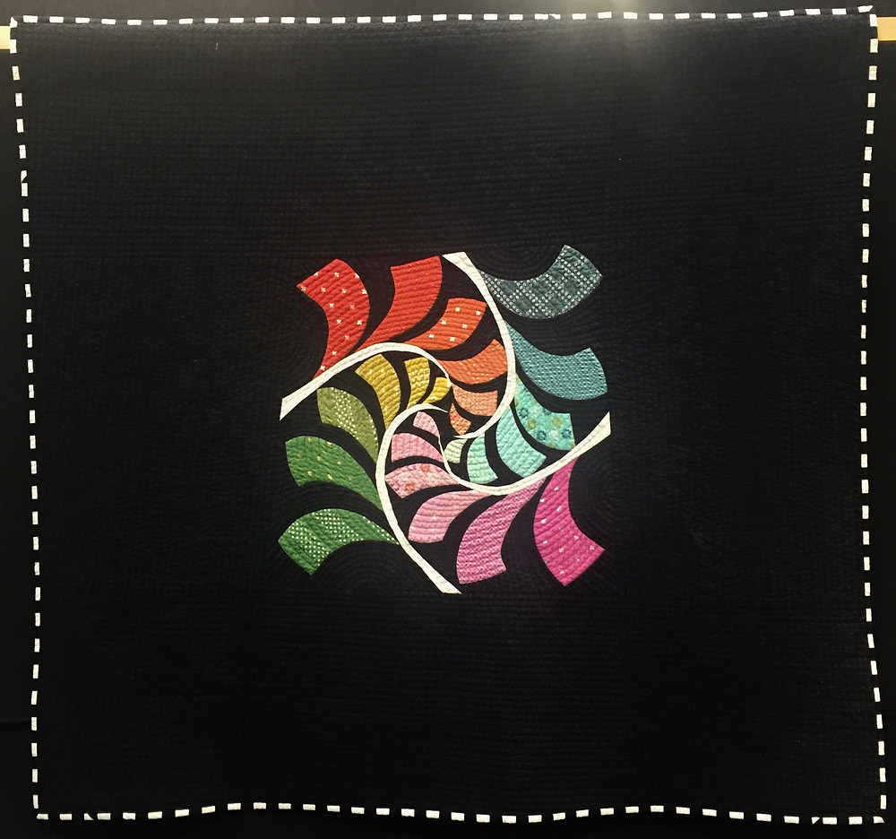 Festival of Quilts - And The World Goes Round.. by Jane Osborne (Contemporary Quilt) 2nd Prize Winner