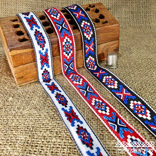 Tribal Jacquard Ribbon MA140