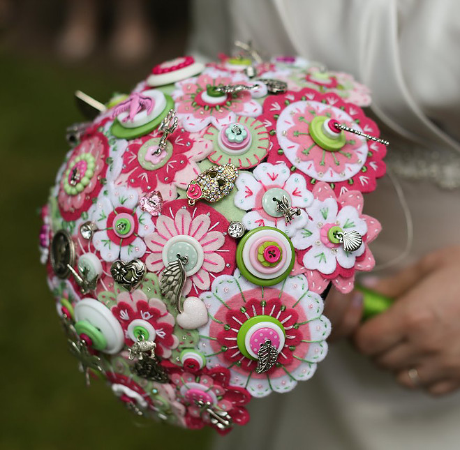 One of Flipside Brides amazing bouquets