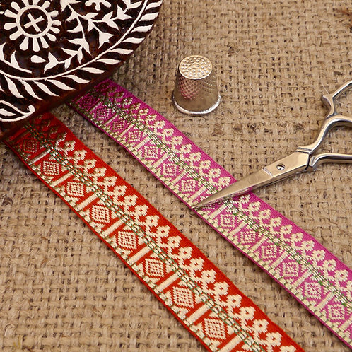 Traditional Jacquard ribbon M44