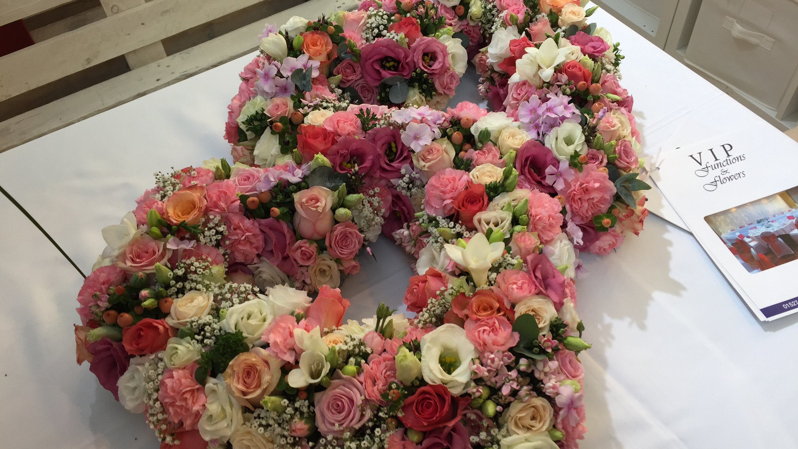 Two hearts as one from VIP Functions and Flowers