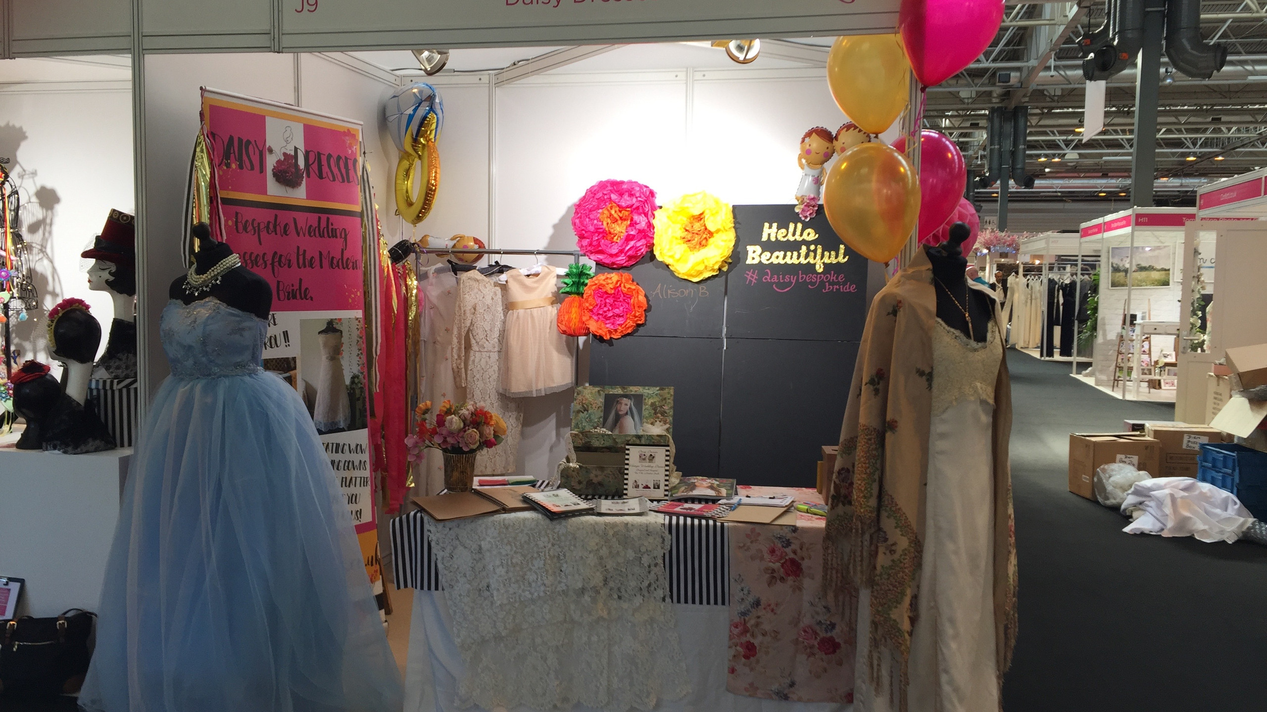The finished stall
