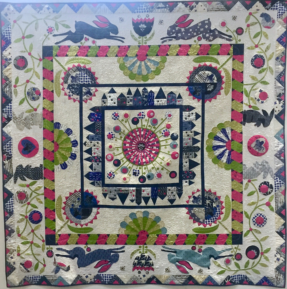 Festival of Quilts My trip down the rabbit hole by Sharon Appleton (Traditional Quilt)