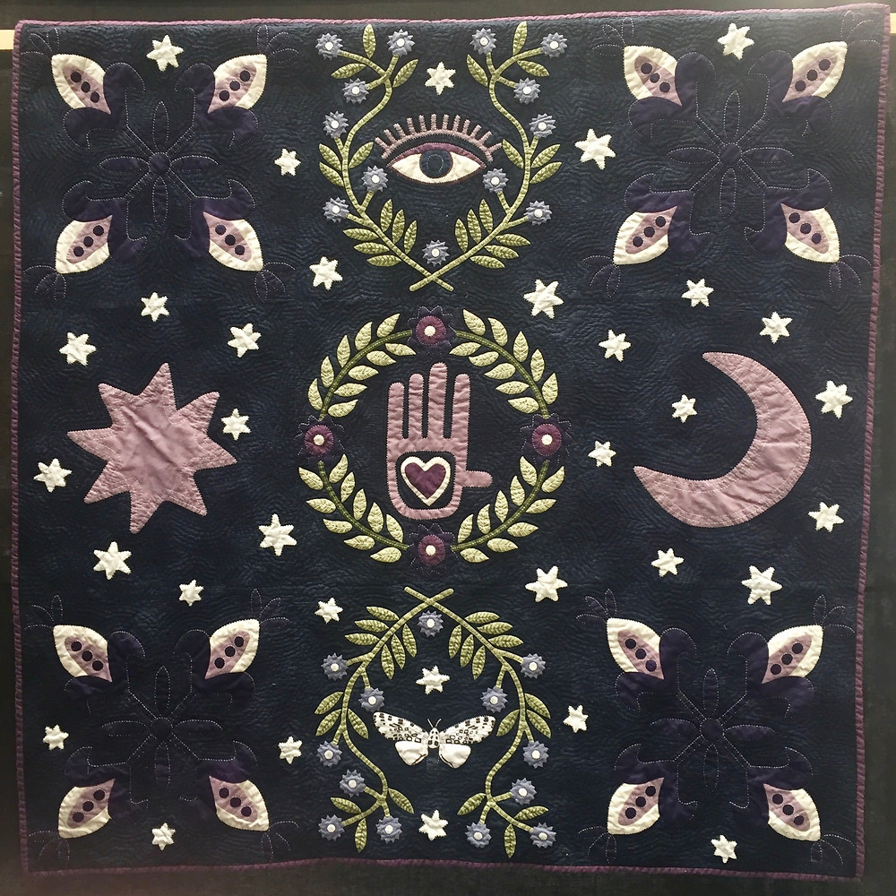 Festival of Quilts - Handmade with love and magic by Yasmeen Kreebani Branton (Contemporary Quilt)