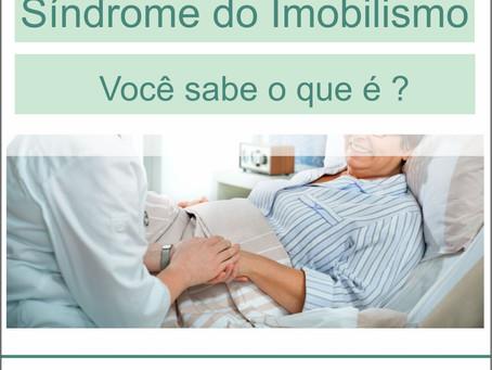 SINDROME DO IMOBILISMO