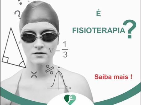 HIDROTERAPIA É FISIOTERAPIA?
