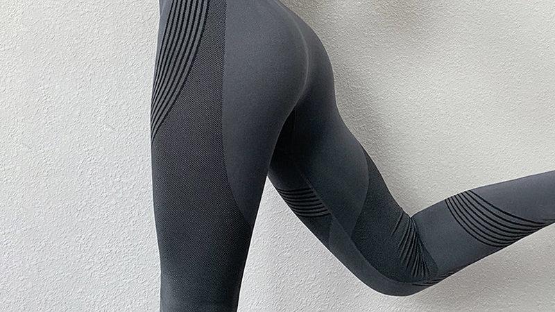 Seamless Women Leggings Casual High Waist Push Up Ankle Length Leggings