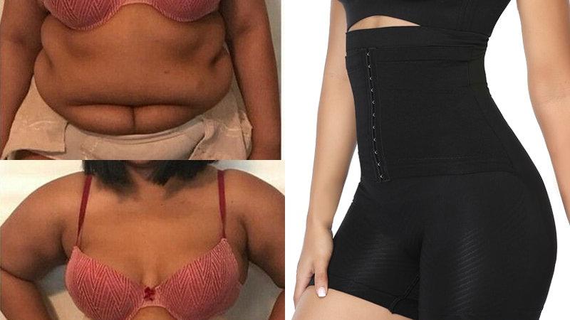 Super High Waist Control Panties Women Waist Trainer Corset Body Shaper