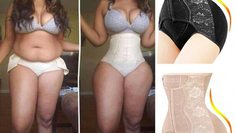 High Waist Body Shaper Control Panties Briefs Corset