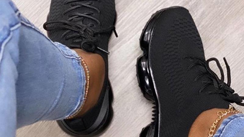 Women Breathable Mesh Sneaker