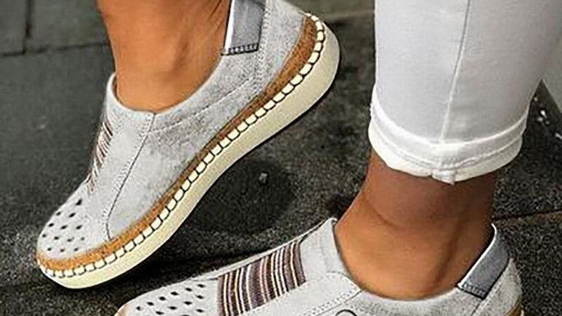 Vertive Heart Loafers Casual Shoes Women Slip-On Sneaker