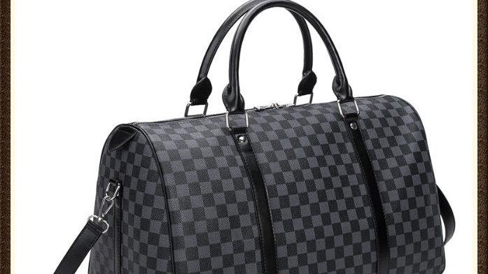Fashion Travel Bag Men Women Classic PU Leather Luggage Bag