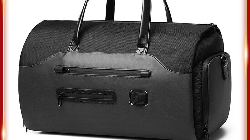 OZUKO Multifunction Men Suit Storage Travel Bag Large Capacity Luggage Handbag