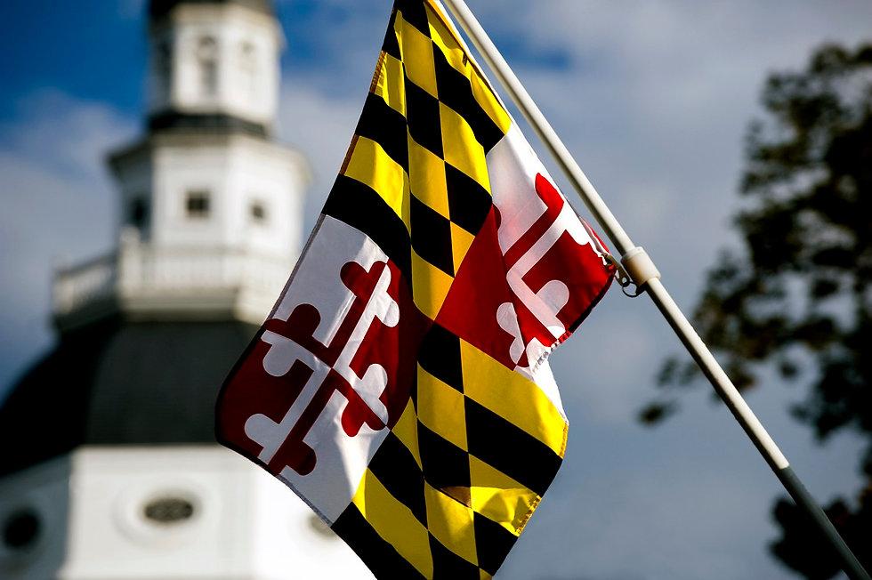 New to Maryland   (MD) TAGS & TITLE