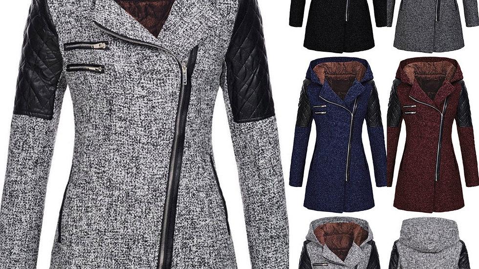 Women Warm Slim Jacket Thick Parka Overcoat Winter Outwear