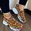 Thumbnail: Vulcanized Woman Rivet Shoes Female Platform Wedges