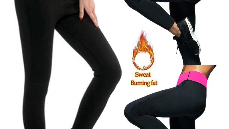 Long Sauna Pants Neoprene Legging Control Panties