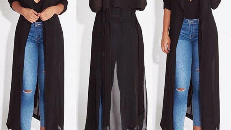 Women Casual Vintage Kimono Cardigan Ladies 2020