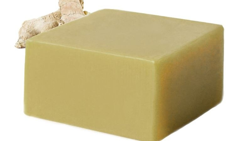 120g Ginger Essential Oil Handmade Rectangle Soap
