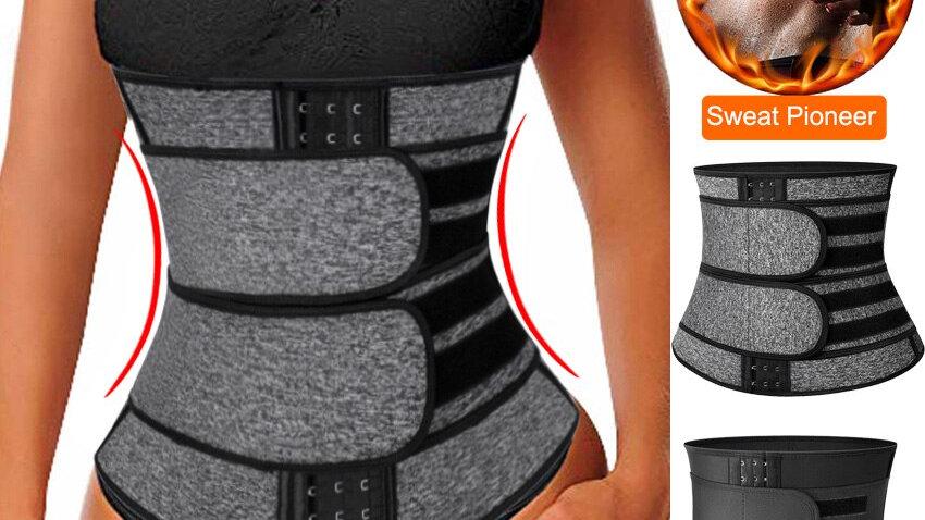 Neoprene Sauna Waist Trainer Corset Sweat Belt