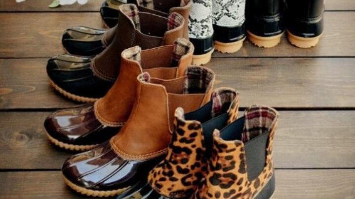 Women Shoes Woman Rainboots Leopard Rain Boot