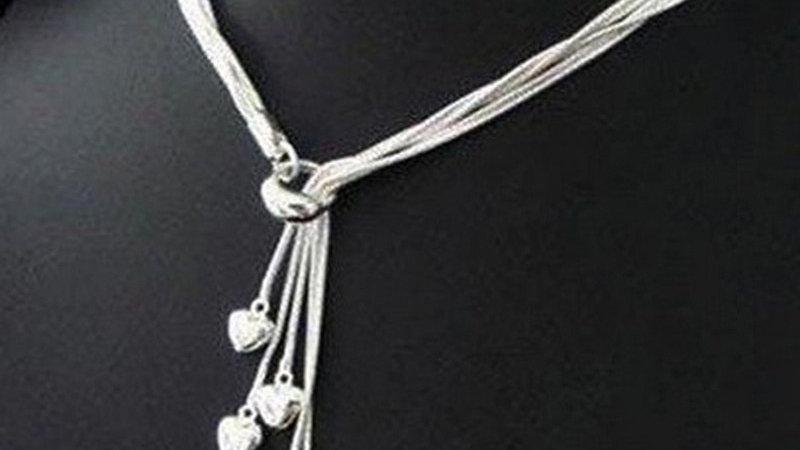 Fashion Women Fashion Necklace Jewelry Heart Pendant Classic Stylish Necklace
