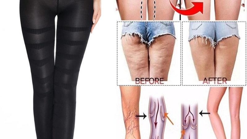 Shapewear Anti Cellulite Compression Leggings Leg Slimming Body Shaper