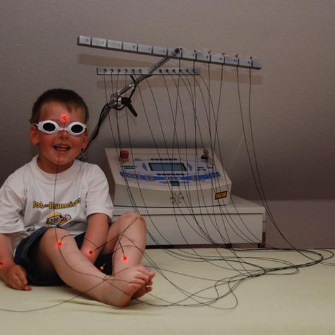 Laser-Akupunktur: völlig schmerzfrei!