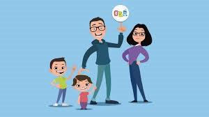 GBR: Una famiglia giocosa piena d'amore
