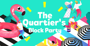 This weekend you'll find me at The Quartiers Block Party..