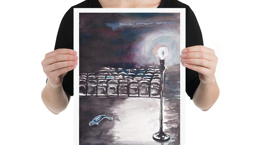 "B&W Ghostlight Vertical by EDW Designs [12""x16""]"
