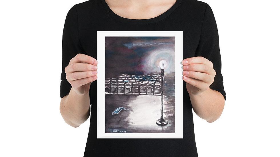 "B&W Ghostlight Vertical by EDW Designs [8""x10""]"