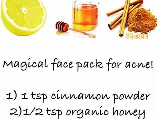 Acne Scar Facial Mask
